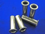パイプ加工品:ダブルフレア加工/絞り加工