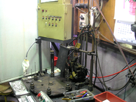 プラズマ半自動溶接機