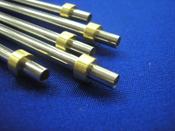 パイプ加工:先端封止溶接加工/フランジカシメ加工