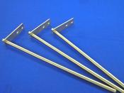 パイプ加工:穴明加工<br>異形フランジと角パイプの溶接加工